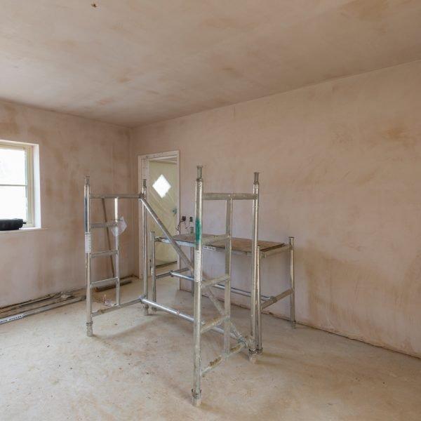 Plastering interiors in Burgh Apton