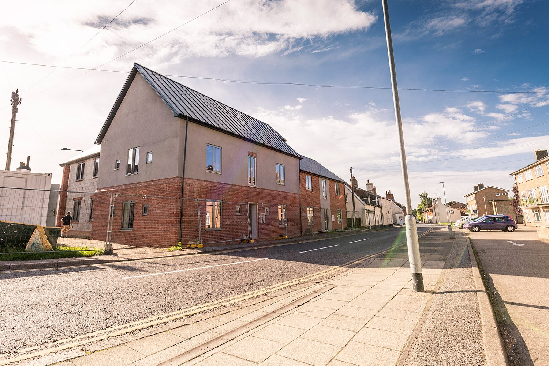 Dereham housing development